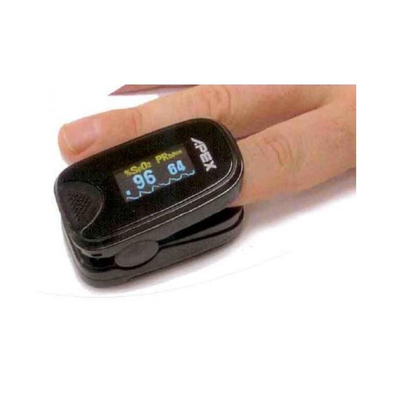 Pulsioximetro en dedo