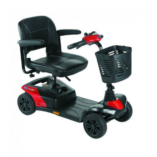scooter-electrico-desmontable-invacare-colibri-color-rojo