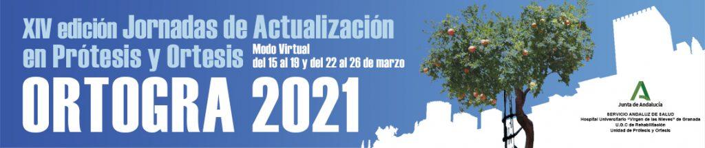 El próximo mes de marzo, días 15 a 26 se celebra en Granada Ortogra 2021