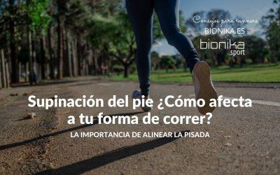 Supinación del pie ¿Cómo afecta a tu forma de correr?