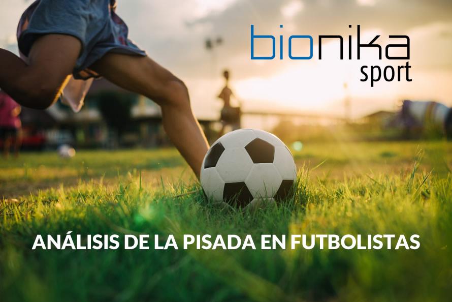 Análisis de la pisada en futbolistas